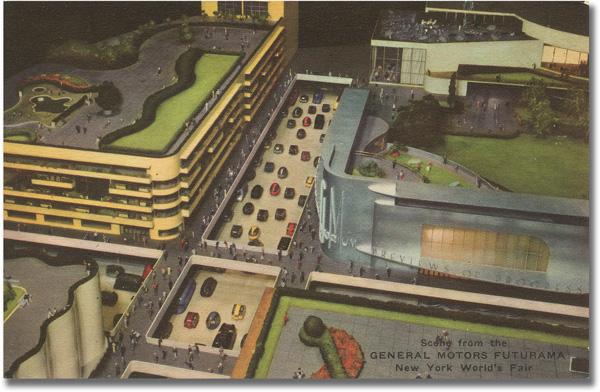 General Motors Futurama Postcard