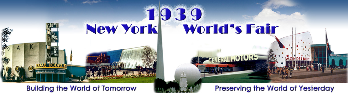 1939 NY World's Fair Masthead