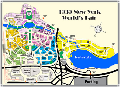 1939 New York Worlds Fair Tour Ovrview Page