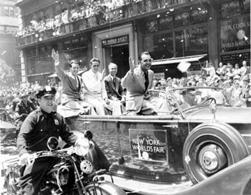 World's Fair Parade-Howard Hughes