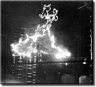 General electric ge man made lightning photo 090